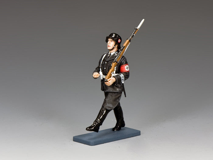 LAH205 - SS man on Parade… Goosestepping. Berlin '38 by King & Country - Piers Christian Toy Soldiers - 1