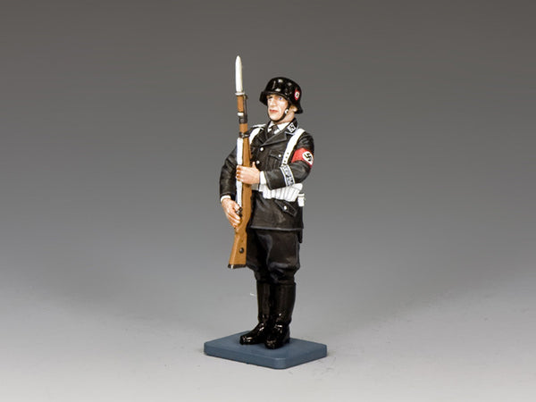 LAH206 - SS man at… Present Arms, Berlin '38 from King & Country - Piers Christian Toy Soldiers