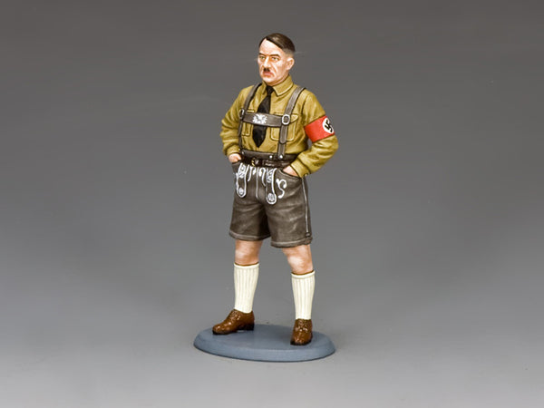 LAH208 - Adolf in Lederhosen. Berlin '38 from King & Country - Piers Christian Toy Soldiers