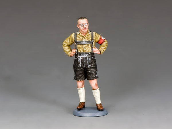 LAH209 - Lederhosen Heini. Berlin '38 from King & Country - Piers Christian Toy Soldiers