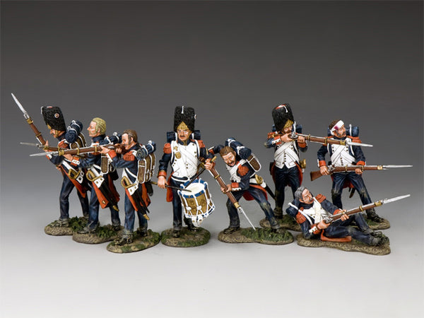 NA-S01 The Old Guard Set K&C Napoleonic French - Piers Christian Toy Soldiers