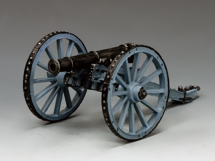NA338 - Royal Artillery field gun, K&C Napoleonic British - Piers Christian Toy Soldiers