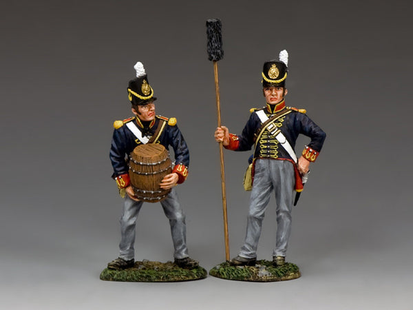 NA341 - Gunner Set B, K&C Napoleonic British - Piers Christian Toy Soldiers