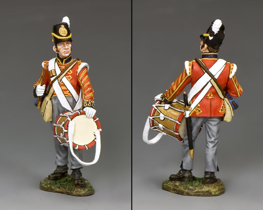 NA342 - Royal Artillery Drummer, K&C Napoleonic British - Piers Christian Toy Soldiers - 2