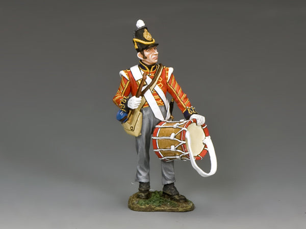 NA342 - Royal Artillery Drummer, K&C Napoleonic British - Piers Christian Toy Soldiers - 1