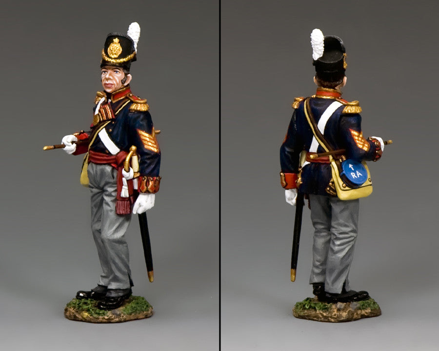 NA345 - Royal Artillery Battery Sergeant Major. K&C Napoleonic British - Piers Christian Toy Soldiers - 2