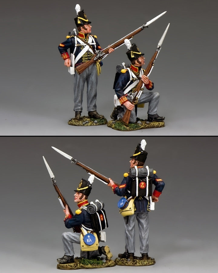 NA346 - Ready, aye ready!. Royal Artillery, K&C Napoleonic British - Piers Christian Toy Soldiers - 2