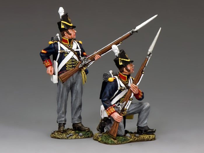 NA346 - Ready, aye ready!. Royal Artillery, K&C Napoleonic British - Piers Christian Toy Soldiers - 1