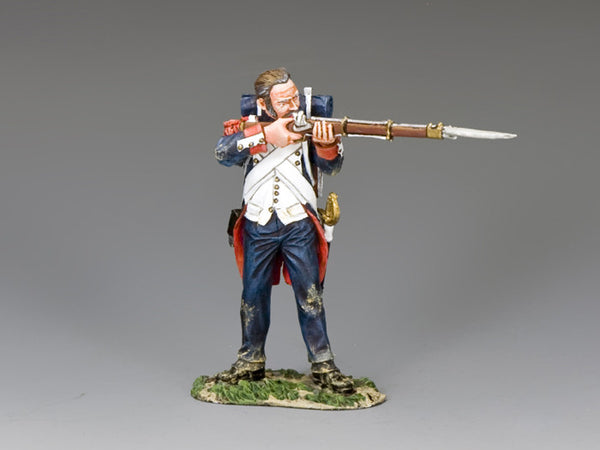 NA364 - Old Guard standing Firing (hatless). K&C Napoleonic French - Piers Christian Toy Soldiers