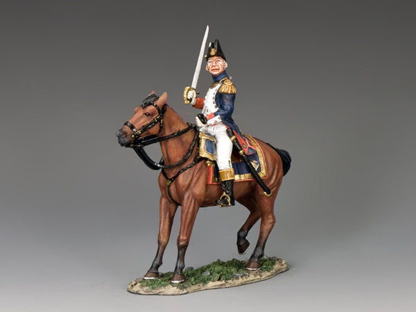 NA367 - Mounted Old Guard Officer with Sword. K&C Napoleonic French - Piers Christian Toy Soldiers - 1