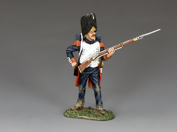 NA370 - The Old Guard, Standing Loading. K&C Napoleonic French - Piers Christian Toy Soldiers - 1