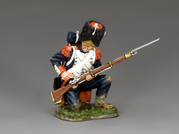 NA371 - Old Guard, Kneeling Loading. K&C Napoleonic French - Piers Christian Toy Soldiers