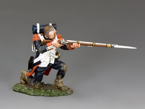 NA374 - Kneeling Firing (no Hat). K&C Napoleonic French - Piers Christian Toy Soldiers