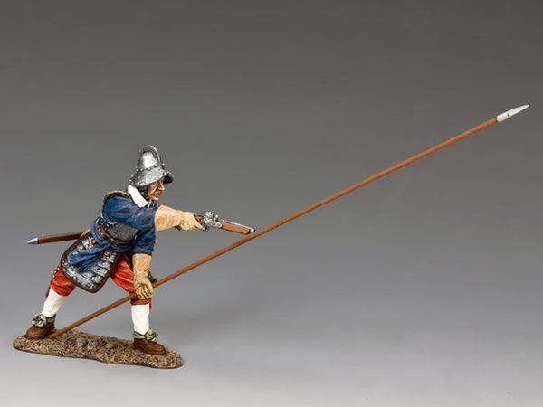 "PnM053B - ""Sergeant of Pike"" Royalist, Pike & Musket - Piers Christian Toy Soldiers"