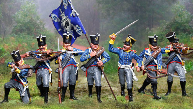 CS00894 - Prussian Infantry Officer, Prussian and British Napoleonic - Piers Christian Toy Soldiers - 2