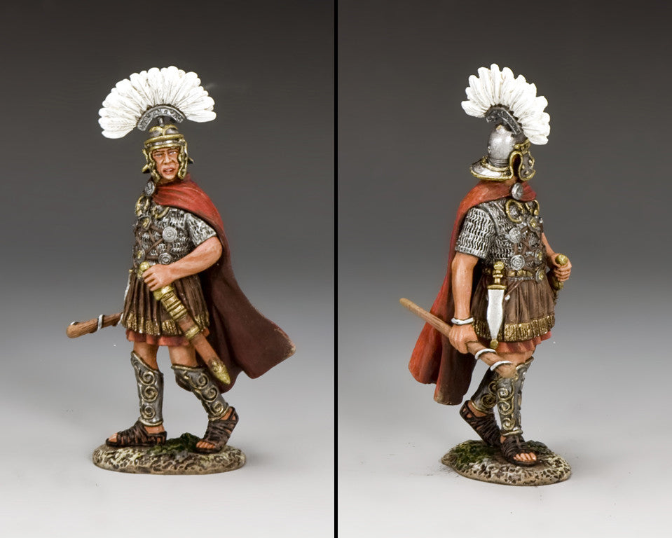 ROM003 - The Primus Pilus from the K&C Romans Collection - Piers Christian Toy Soldiers - 2