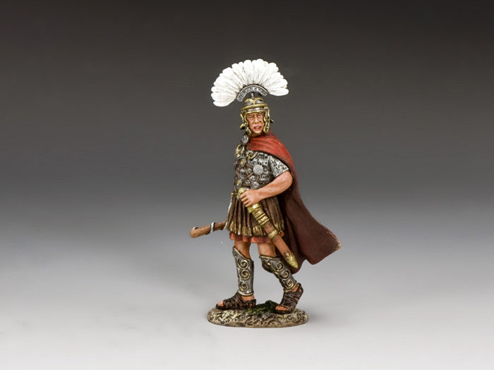 ROM003 - The Primus Pilus from the K&C Romans Collection - Piers Christian Toy Soldiers - 1