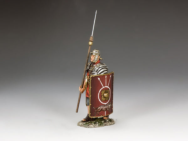 ROM012 Marching Legionary from the K&C Romans Collection - Piers Christian Toy Soldiers - 1