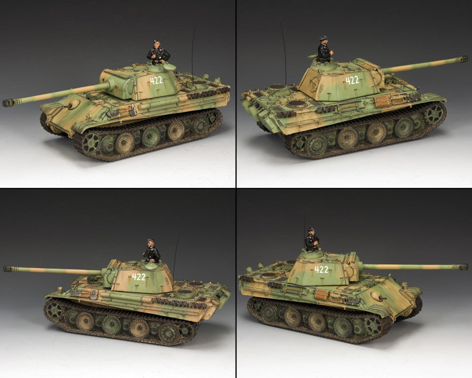 WS272 - Panther Ausf.G - WWII Classic Germans - Piers Christian Toy Soldiers - 2