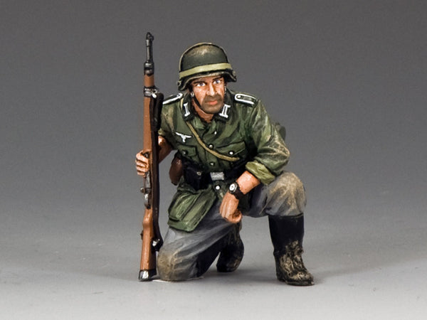 WS289 - Kneeling with Rifle, WWII Classic Germans collection - Piers Christian Toy Soldiers - 1
