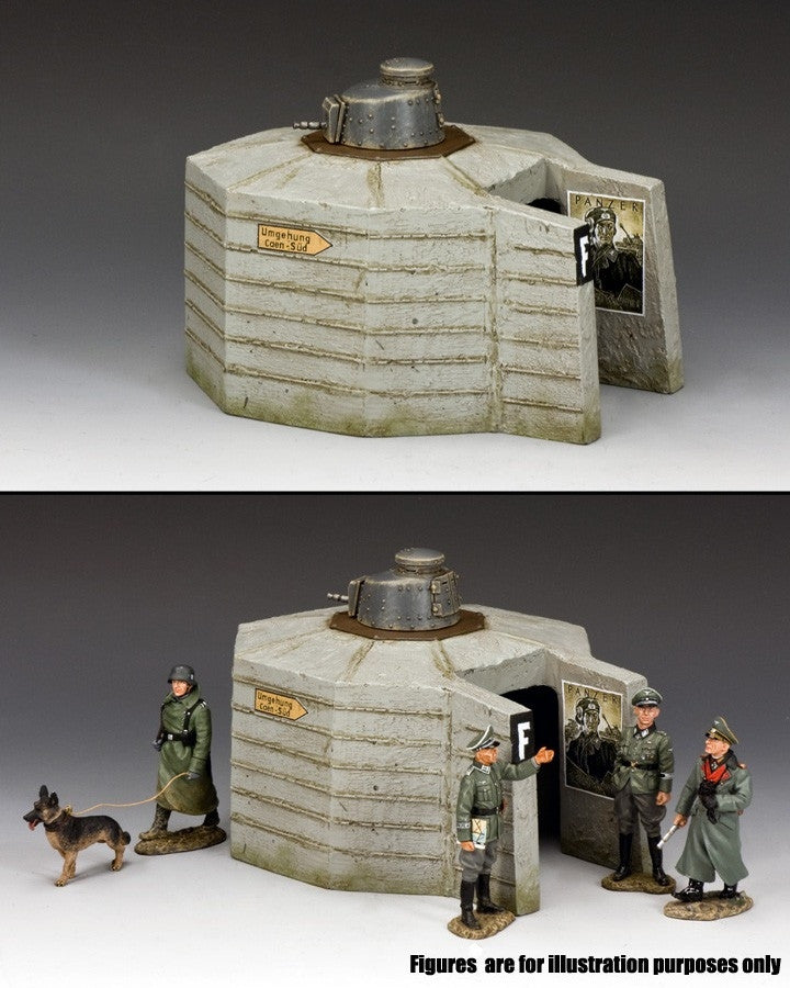 WS296 - FT-17Normandy Pillbox, WWII Classic Germans - Piers Christian Toy Soldiers - 2