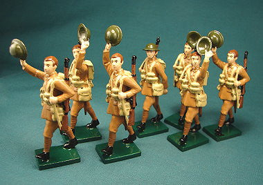 BG300 - British Infantry of 1915 by Beau Geste WWI - Piers Christian Toy Soldiers