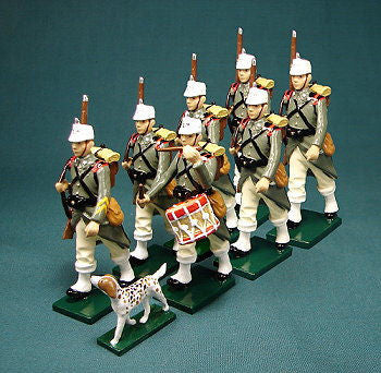 BG306 - Italian Infantry Jagers in Winter uniform by Beau Geste WWI - Piers Christian Toy Soldiers