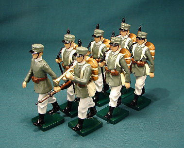 BG310 - Italian Infantry in Summer Uniform by Beau Geste WWI - Piers Christian Toy Soldiers