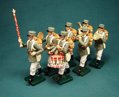 BG311 - Italian Infantry Military Band, Beau Geste WWI - Piers Christian Toy Soldiers