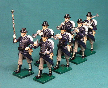 BG330 - Belgian Infantry military Band of WWI by Beau Geste. - Piers Christian Toy Soldiers