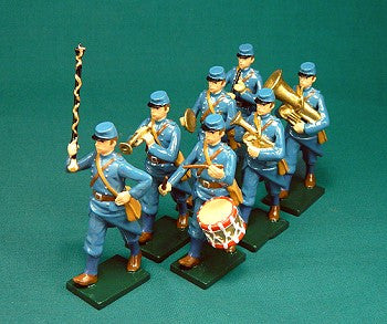 BG332B - French Infantry Military Band of 1916 by Beau Geste WWI - Piers Christian Toy Soldiers