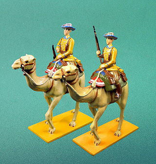 BG333 - German Camel Corps Schutztruppe in Tropical Uniform by Beau Geste WWI - Piers Christian Toy Soldiers