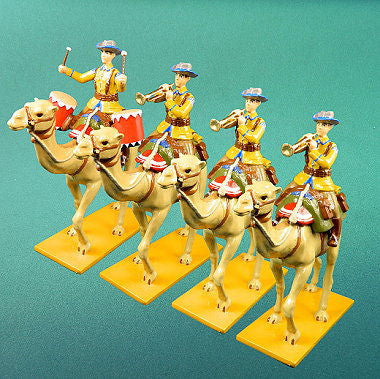 BG335 - German Camel Corps Military Band in Tropical Uniform by Beau Geste WWI - Piers Christian Toy Soldiers
