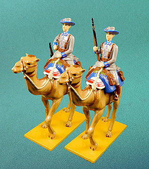 BG336 - German Camel Corps mounted Schutztruppe in Winter Uniform by Beau Geste WWI - Piers Christian Toy Soldiers