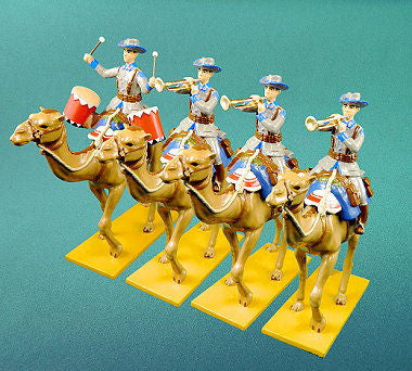 BG338 - German Camel Corps Military Band in Winter Uniform by Beau Geste WWI - Piers Christian Toy Soldiers