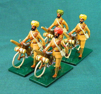 BG339 - Indian Cycle Corps, British Army WWI by Beau Geste. - Piers Christian Toy Soldiers - 1