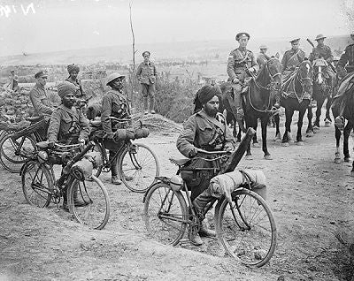 BG339 - Indian Cycle Corps, British Army WWI by Beau Geste. - Piers Christian Toy Soldiers - 2