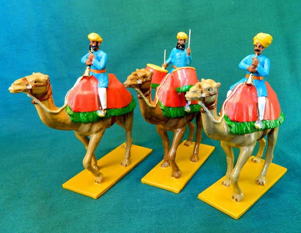 BG341 - Camel Band, Drums and Horns of Alwar from Beau Geste Delhi Durbar - Piers Christian Toy Soldiers