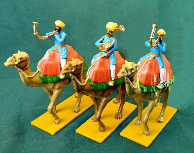 BG342 - Camel Band, Winds Line for the Elephant of Alwar from Beau Geste Delhi Durbar - Piers Christian Toy Soldiers