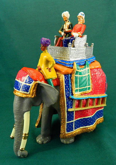 BG343 - The Maharaja of Farikdot's Elephant from Beau Geste - Piers Christian Toy Soldiers