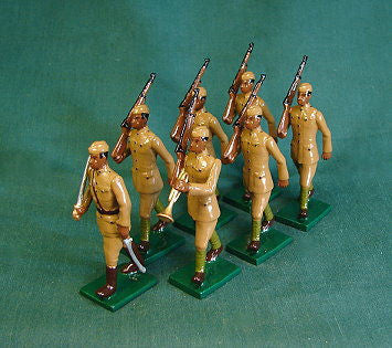 "BG359 - US Army 369th Regiment ""Harlem Hellfighters' from Beau Geste WWI - Piers Christian Toy Soldiers - 1"