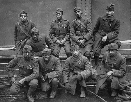 "BG359 - US Army 369th Regiment ""Harlem Hellfighters' from Beau Geste WWI - Piers Christian Toy Soldiers - 2"