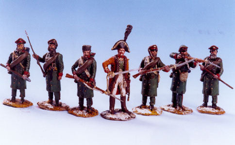 MM7 - Opelchenie Russian Militia, Napoleonic Wars by Manes Marzano - Piers Christian Toy Soldiers