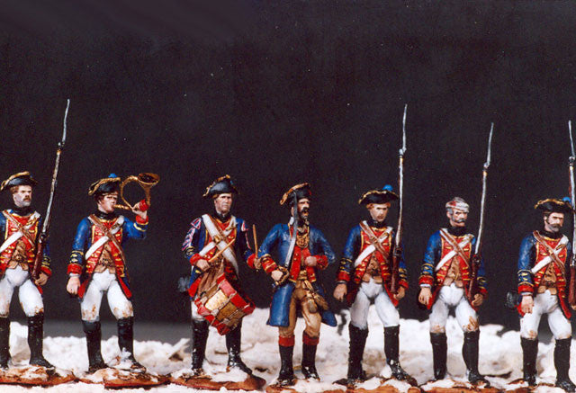 MM32 - Wessel Cassel Fusiliers American Revolution by Manes Marzano - Piers Christian Toy Soldiers