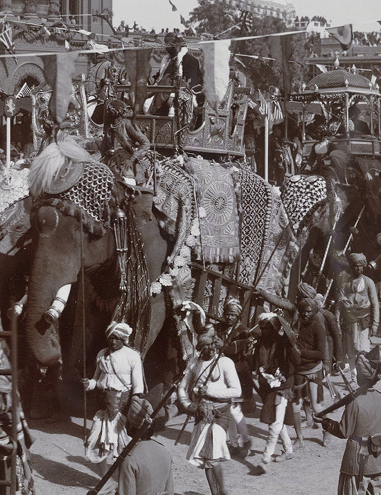 BG411 - State Elephant of Datia,  Delhi Durbar 1903 from Beau Geste Delhi Durbar - Piers Christian Toy Soldiers - 3