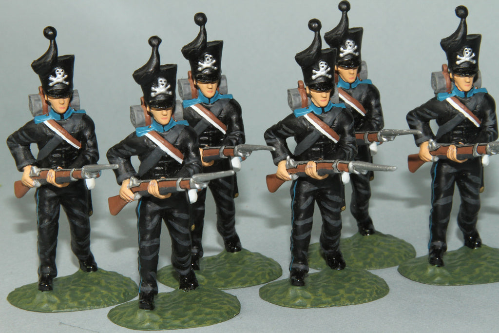 BRI6 - Brunswick 1st Regiment, Frontline Napoleonic - Piers Christian Toy Soldiers - 1
