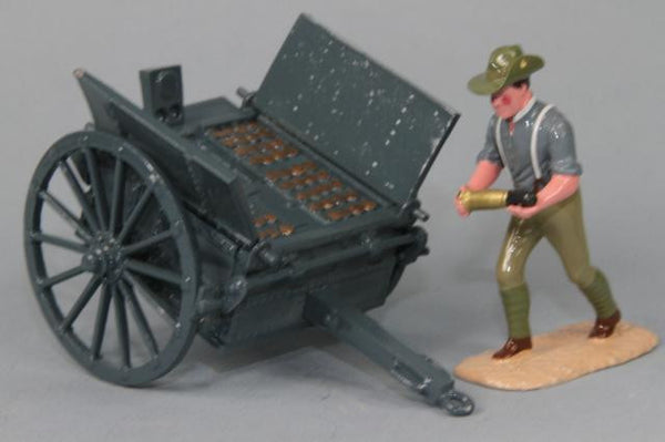 WW139B - Australian Artillery Caisson, Great War. Made by Regal Toy Soldiers - Piers Christian Toy Soldiers - 1