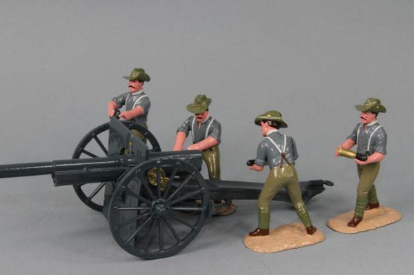 WW139A - Australian Artillery, Great War, Made by Regal Toy Soldiers, Soldiers of the World series - Piers Christian Toy Soldiers - 1