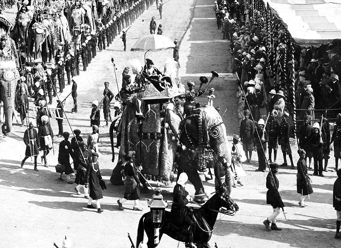 BG430 - The Elephant of Narsingharh for the Delhi Dunbar 1903 made by Beau Geste. - Piers Christian Toy Soldiers - 2