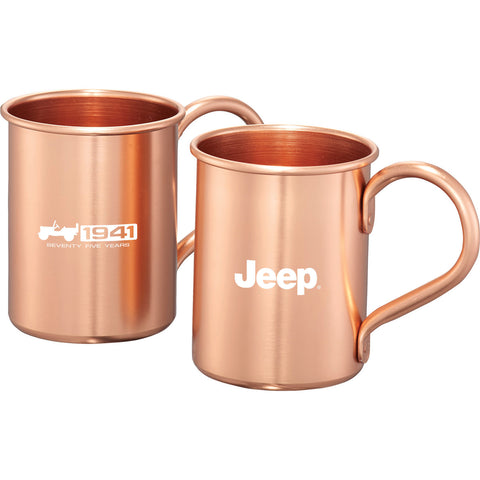 Jeep - 75th Anniversary Copper Mug Set